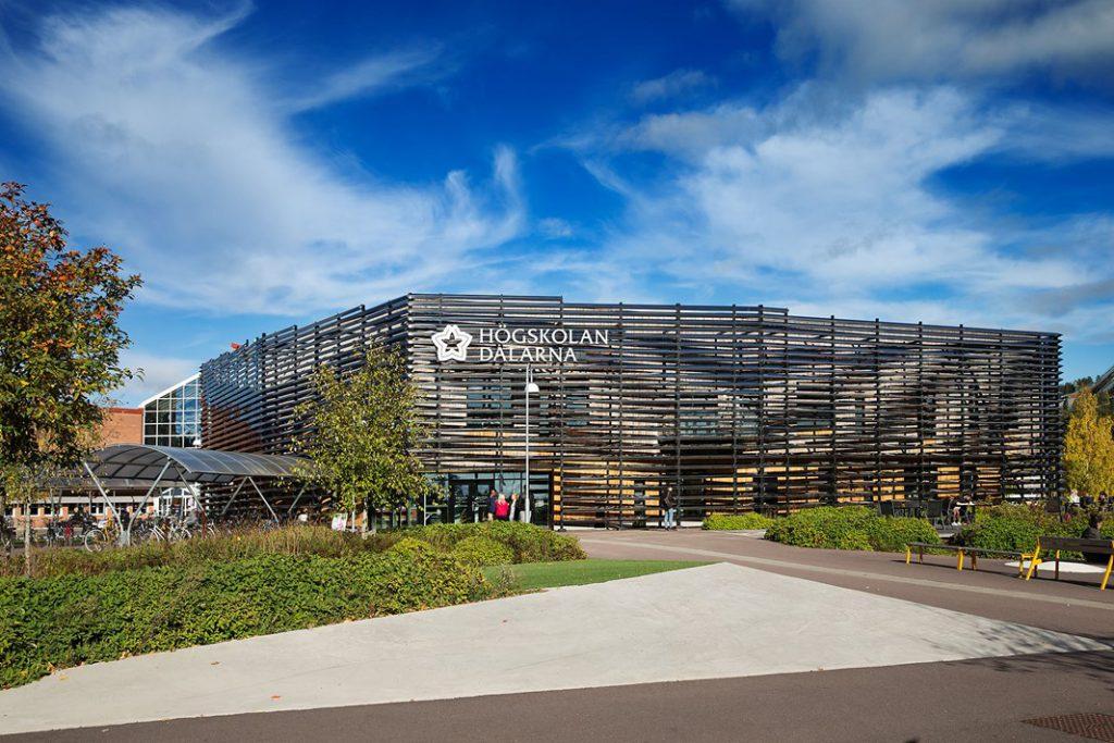 Exteriörbild campus Falun